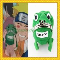 Free Shipping Naruto Frog Change Purse,0.2kg/pc