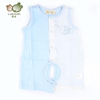2013 summer baby male female child open-crotch llbbv035 bodysuit sleeveless