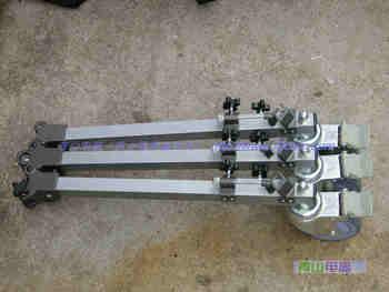 Professional camera tripod rocker arm truckings weifeng 9911 truckings portable