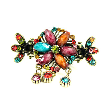 Costume hair accessory tassel ccbt side-knotted clip vintage pop clip spring clip clip