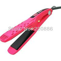 Ionic Hair Iron Wet & Dry Hair Straightener GIC-HS120 Dual Voltage 110v-240v Free Shipping