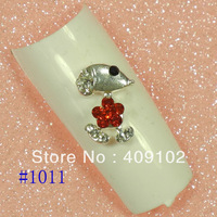 Free Shipping #1011 50pcs/lot nail alloy decoration there are more than 500styles for selection