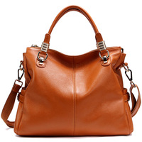 2013 hot selling vintage genuine leather  limited edition classic all-match women's handbag / luxury leather causul lady tote