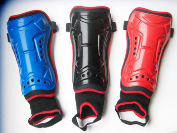 Soccer shin pads belt ankle dykeheel shin pads double protective cuish plate football shin guard belt strap