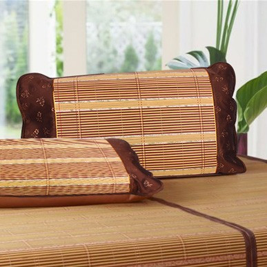 H451 natural bamboo pillow case bamboo mat pillow bamboo pillow case refreshin print health care pillow case bamboo 120(China (Mainland))