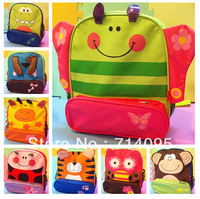 Cartoon animal child small school bag primary school students male female child backpack freeshipping