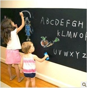 Coral wall stickers 60cm 2m eco-friendly dull blackboard