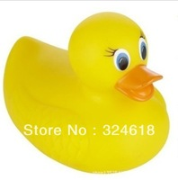 Free shipping White Hot Safety Bath Ducky know the temperature duck toy the bathroom water toy thermoinduction anti-scald