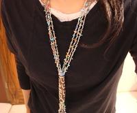 New arrival tibetan jewelry gravel beads necklace