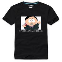 cartoon south park - 10 100% cotton t-shirt men & women plus size XXXL lovers Couple Short sleeve T-shirt Free shipping