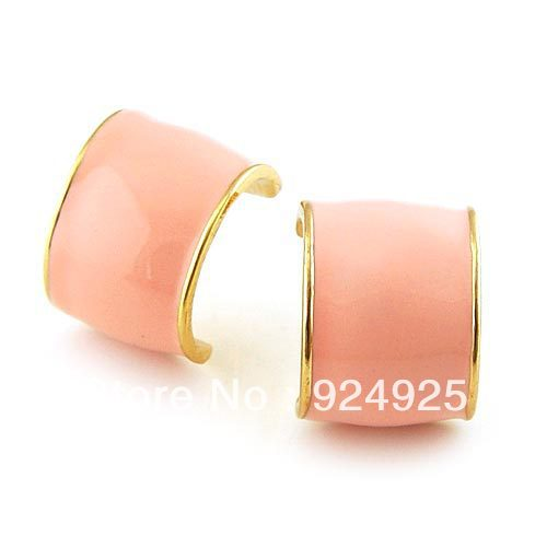 a pair bijouterie Korean version Crescent Stud Earrings women's deco Eardrop dangler for girl jewelry ornament(China (Mainland))