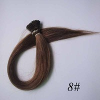 "2# Jet Black Hook loop Micro Bead Remy Human Hair Extensions 100S/pack straight 18"" 20"" 22"" Best Price"
