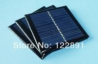 5.5V 180mA 1W Mini Solar Panels Small Solar Power 3.6V Battery Charge Solar Led Light Solar Cell 10pcs/lot Free shipping