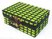 Free shipping Handmade rattan vintage networking storage baskets 35*23*14cm