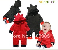 baby romper/rompers jumping jump suit jumper jumpers children cotton autumn pajama/pajamas special cap  KM