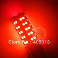 Free shipping New car led light bulb 1157 1210 68 SMD Brake Parking license plate light bulb Lamp White Red