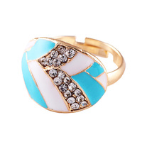 Fashion ring neon oil multicolour fashion finger ring accessories