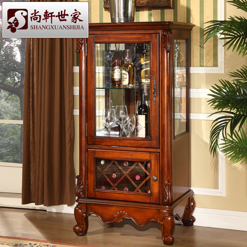 Dining room wine cabinet