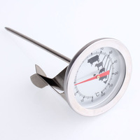 Stainless steel pointer thermometer coffee  thermometer iron cappuccino
