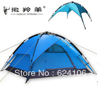 Outdoor camping tent / couple tent / Automatical camping tents for 4 persons