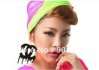 newest style,5pairs/lot  neon color acrylic drop earring,can accept mixed colors