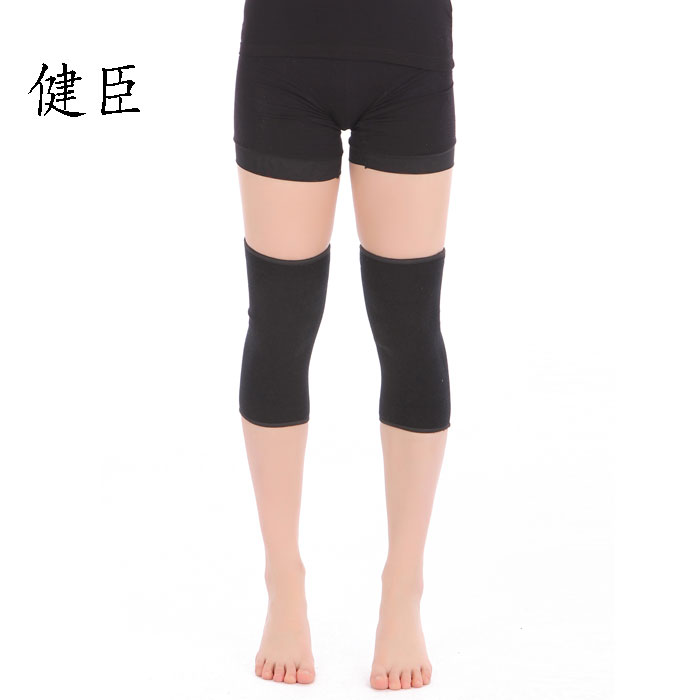 100% cotton kneepad ultra-thin breathable thermal sports kneepad hiking basketball running flanchard(China (Mainland))