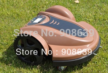 2013 Newest Arriving Robotic Lawn Mower(Lead-acid Battery) With Password,Time Setting, Language and Subarea Setting Function