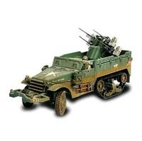 free shipping ! FOV 1:32 81005 WWII U.S. M16 multi-drive vehicles US M16 Gun   Alloy Military Model