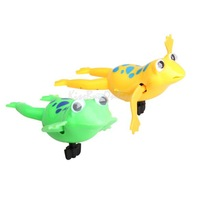 Swimming Frog Battery Operated Pool Bath Cute Toy Wind-Up Swim Frogs Kids Toy K5