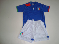New Italy Confederations Cup 2013 Soccer Jersey- Children/kids/youth Italia Home football Kit 2013-2014