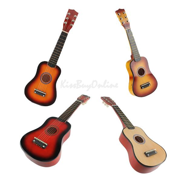 21 Inch 6 String Acoustic Guitar with Pick Beginners Musical Instrument K5BO(China (Mainland))