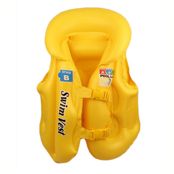 Swimwear child life vest inflatable swimming vest swimwear clothes