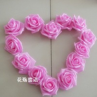 100 pcs/lot Multi-colored Foam Rose Artificial Flowers Bulk For Wedding Favor Decorations
