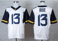 Free shipping West Virginia Mountaineers #13 Andrew Buie 13 College Football Elite Jerseys jersey  white  color