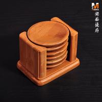 2014 New Hot Sale Round Crochet Doilies Home Decoration Mat Home Garden Circle Bamboo Coasters Set Kung Fu Tea Pot Cup Pad 2d05e