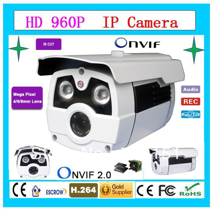 960P HD IP Camera Support Day Night View 5.0 Megapixel Progressive CMOS Sensor With ONVIF CCTV Surveillance Equipment(China (Mainland))