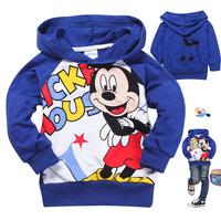 free shipment and wholesale of  hoodies kids sweatshirts, long sleeve t shirts,6pcs/lot mix full size