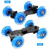 100% GUARANTEE Skater Dolly Stabilizer Table Top FOR CANON 5D MARK II 1000D  650D NIKON D7000 D5100 D5000 D800