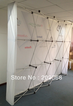 Free Shipping(Europe,USA,CANADA)!!! Fabric Pop up Stand, Fabric Backdrop Banner wall