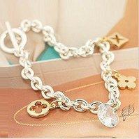 zircon Silver  Bracelet Bangle  Anklet Jewelry  Women Gifts SL-003