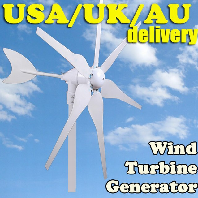12V 24V DC AC OPTION WIND TURBINE GENERATOR KIT 300W WATTS MAX ELECTRICITY WIND POWER(China (Mainland))