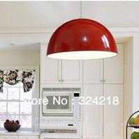 2013 new  pendant light semi-cirle fashion pendant lamp kitchen lamp lamps aluminum painted pendant light