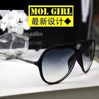 Nonmainstream retro sunglasses tide sunglasses for men and women  toad driving glasses(5color mix)