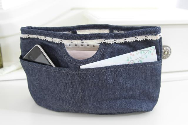 Discount Cheap Boehner denim series jewelry storage bag cosmetic bag travel storage bag accessories sorting bags Free Shipping(China (Mainland))