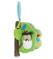 free shipping little kid Treetop Friends Soft Activity Book baby educational toy cloth book