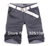 Free Shipping 89175 Korean Fashion Cargo Shorts Swimming Sports Men Famous Brand Compression Brand Board Cotton Plus size