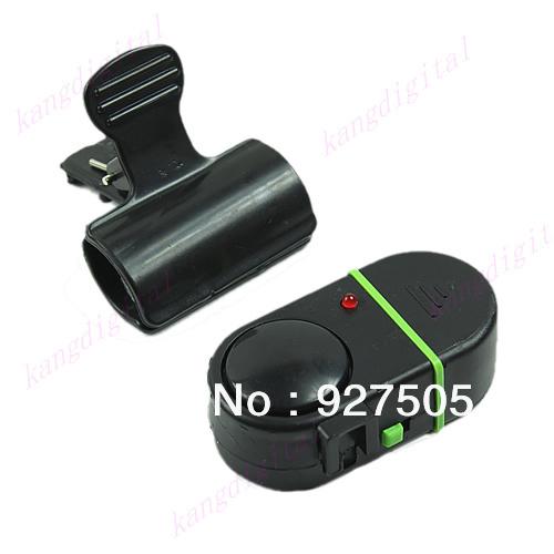 B39Free Shipping Fishing Rod Pole Electronic Bite Alarming Apparatus Alert Bell With Pilot Light(China (Mainland))
