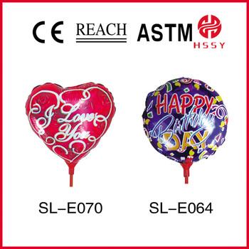 Special shape advertising mylar balloon