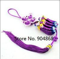 Knitting Artwork Handicraft China Knot Car Decoration Hanging Ornament Festival Knot