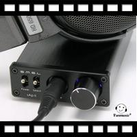 SMSL new upgraded sApII Pro TPA6120A2 Big Power High Fidelity Stereo Headphone Amplifier black